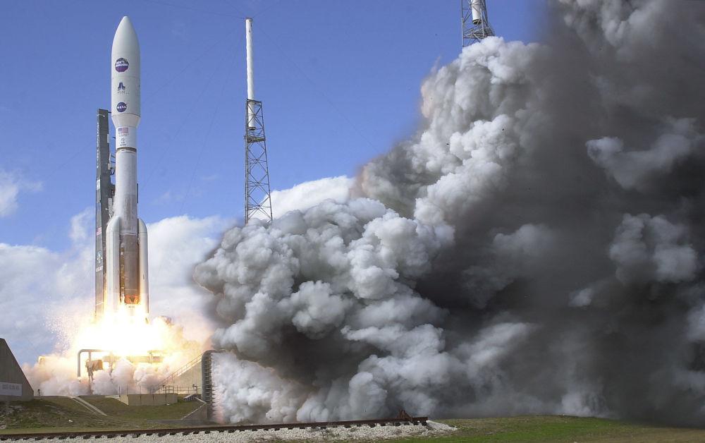 Lançamento da sonda New Horizons em 2006