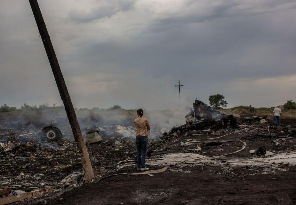 Tragédia do Boeing 777 perto de Shahtersk, Donetsk