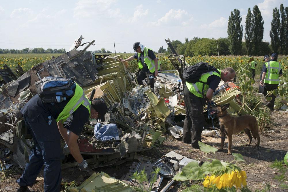 Operação de busca do Boeing 777 da Malaysia Airlines