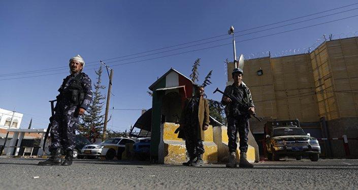 Embaixada italiana em Sanaa, no Iêmen
