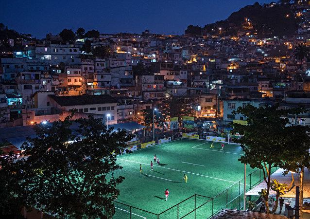 Favela Mineira no Rio de Janeiro