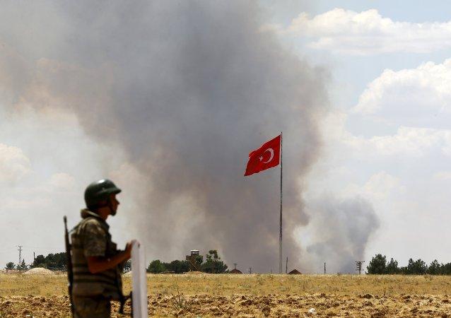 Fronteira entre Turquia e Síria
