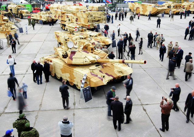 Nono Exposição Internacional do Equipamento e Munições Russia Arms Expo, Nizhny Tagil, 2013