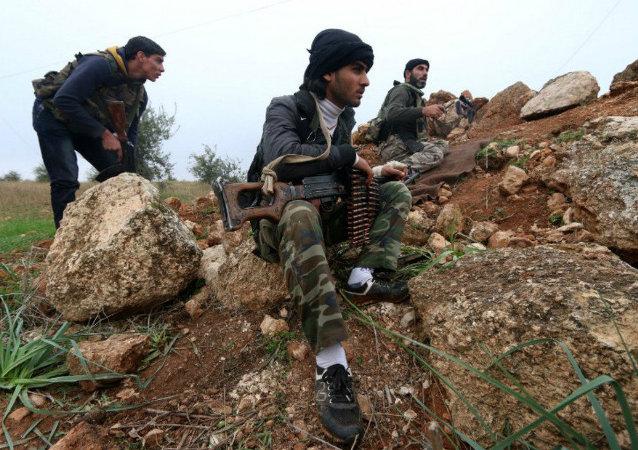 Terroristas na Síria