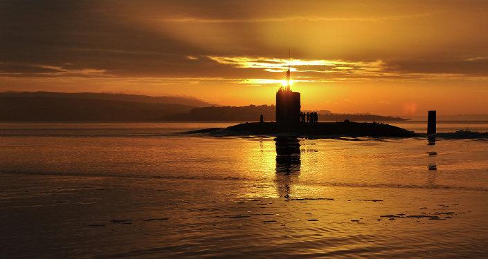 Um submarino do Reino Unido. Foto de arquivo