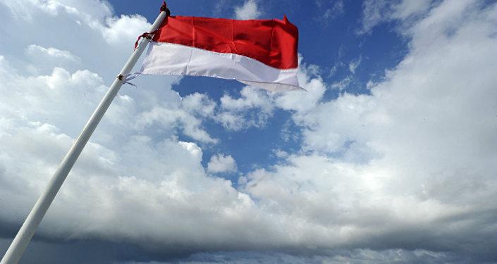Bandeira da Indonésia.