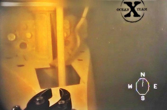 Em 27 de julho o time de exploradores  Ocean X Team anunciou a descoberta de um pequeno submergível que naufragou em águas suecas