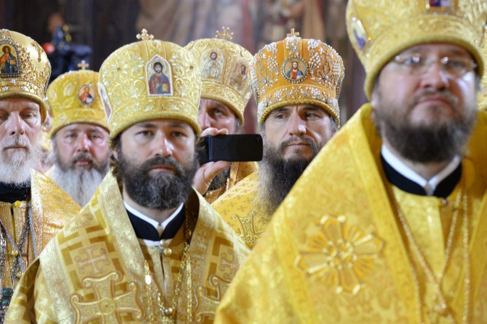 Missa patriarcal  pela ocasião de 1000 anos da morte do príncipe Vladimir I