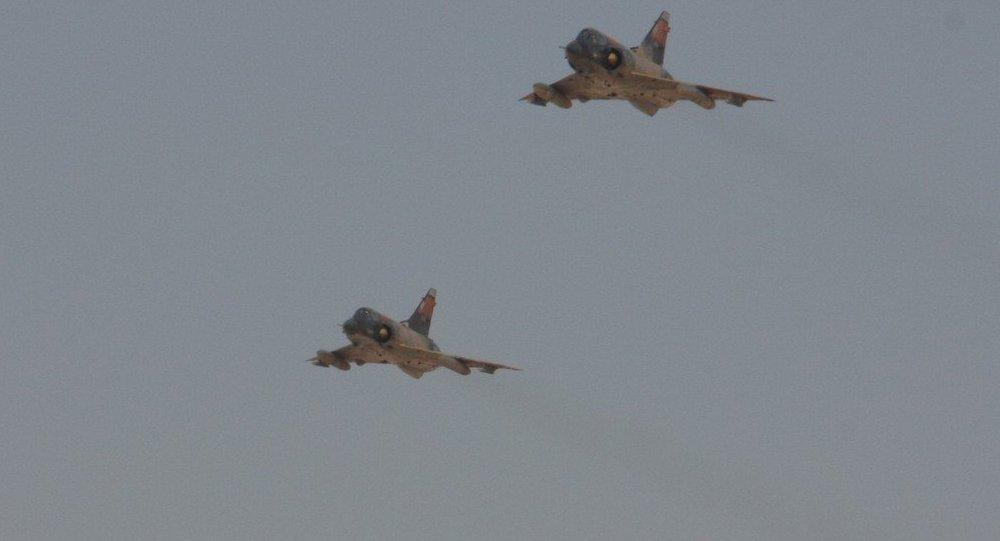 Avião Mirage da Força Aérea do Egito