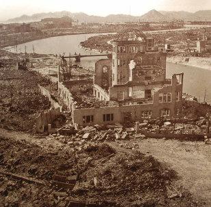 Hiroshima depois da bomba atômica (imagem ilustrativa)