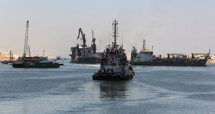 Segunda via do canal de Suez