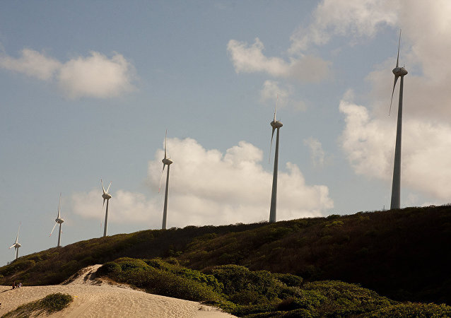 Parque Eólico Fernando de Noronha