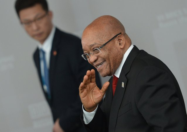 Jacob Zuma, presidente da África do Sul