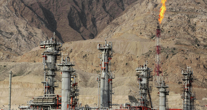 Refinaria de gás em Asalouyeh, Irã