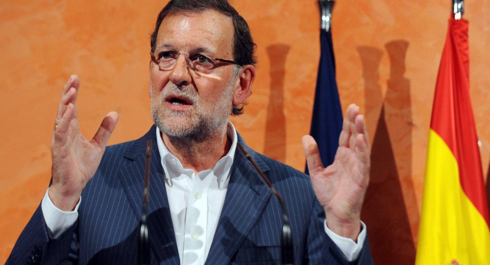 Mariano Rajoy, presidente do governo da Espanha