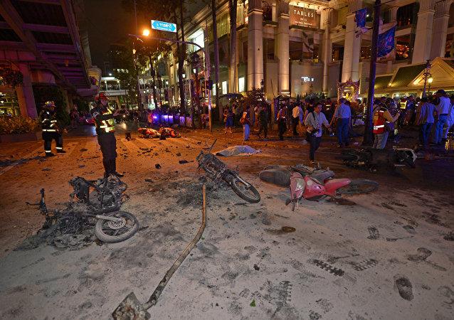Explosão perto do Santuário Erawan, em Bangkok