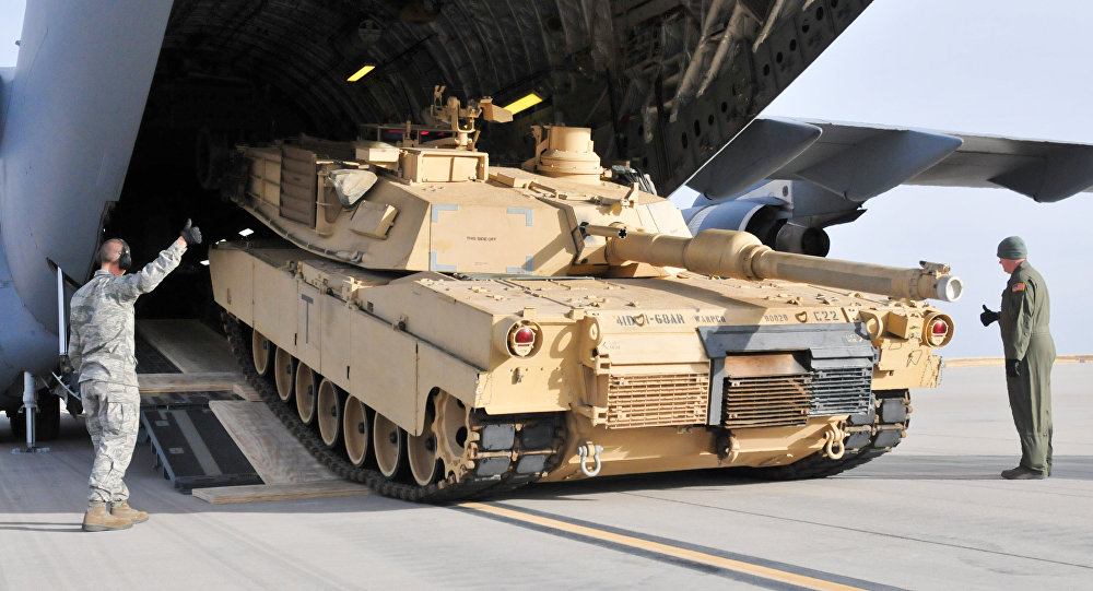 Tanque norte-americano M1A2 Abrams