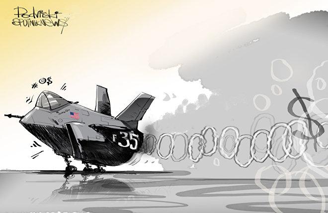 O Pentágono considera o caça F-35 do futuro da aviação militar e já gastou com ele 14 anos de trabalho e cerca de US$ 400 bilhões.