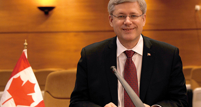 Premiê do Canadá Stephen Harper