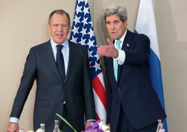 Lavrov & Kerry