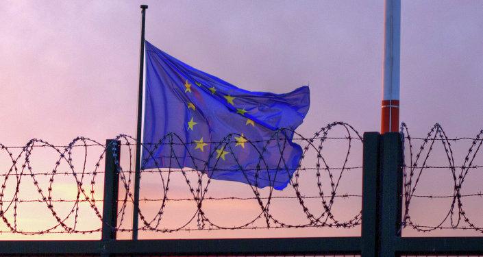 Espaço Schengen, bandeira da União Europeia