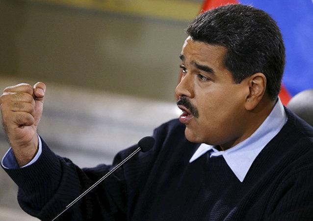 O presidente da Venezuela, Nicolás Maduro, fez um duro discurso contra a Colômbia por conta da situação na fronteira entre os dois países.