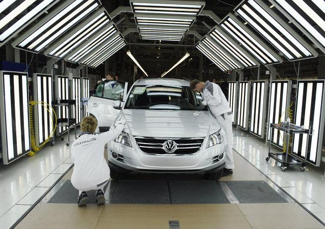 Produção de veículos Volkswagen