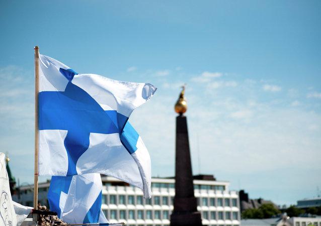 Bandeira da Finlândia