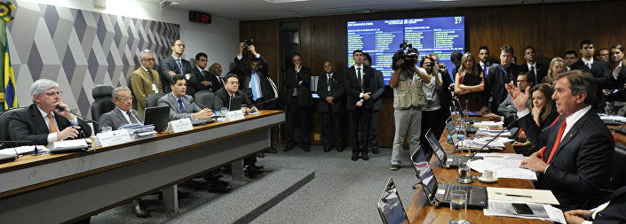 Comissão de Constituição, Justiça e Cidadania (CCJ) realiza audiência pública interativa para sabatina de Rodrigo Janot Monteiro de Barros, indicado para ser reconduzido ao cargo de procurador-geral da República (PGR)
