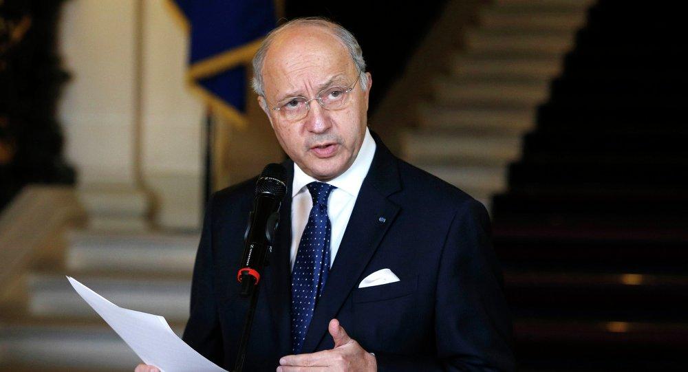Laurent Fabius, ministro das Relações Exteriores da França