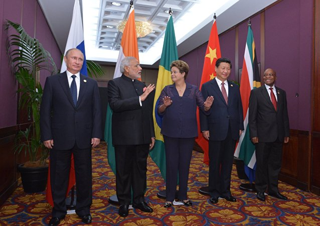 Líderes do grupo BRICS