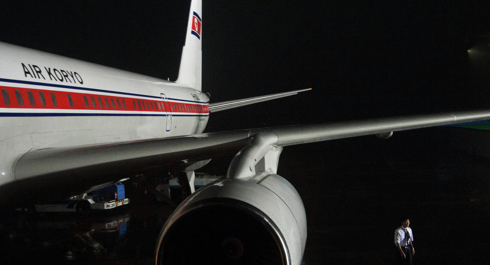 Tupolev 204 da Air Koryo Airlines.