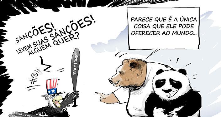 Sanções, sanções quentes!