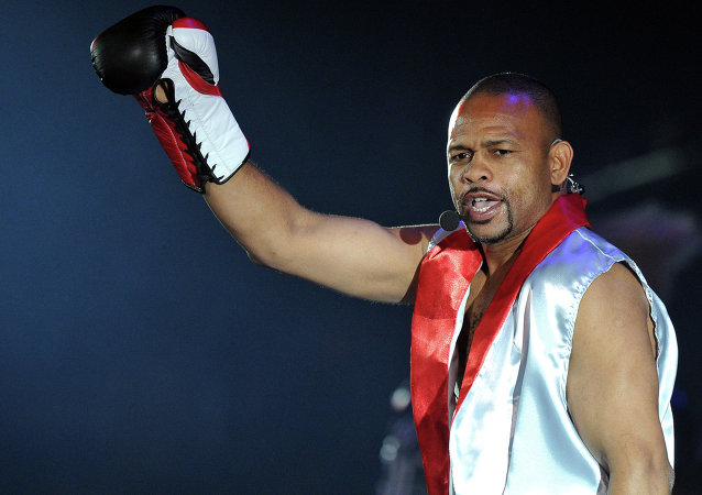 Boxeador Roy Jones Jr.