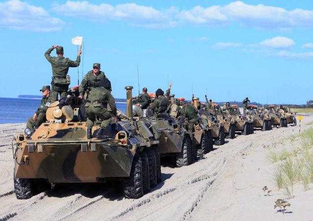 Veículos blindados de transporte de pessoal BTR-80