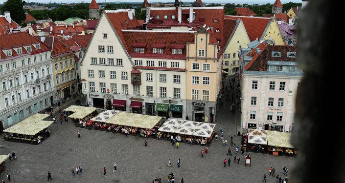Tallinn, capital da Estônia