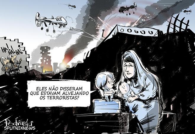 Ataques de drones americanos mataram mais civis no Iêmen de que al-Qaeda