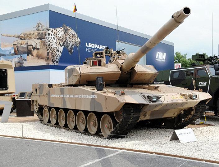 Tanque alemão Leopard 2