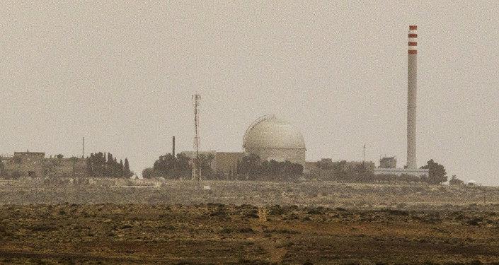 O reator nuclear israelense em Dimon