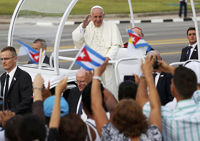 Papa Francisco em Cuba.