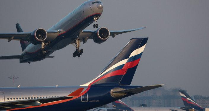Aeronave Airbus A330 da transportadora aérea russa Aeroflot