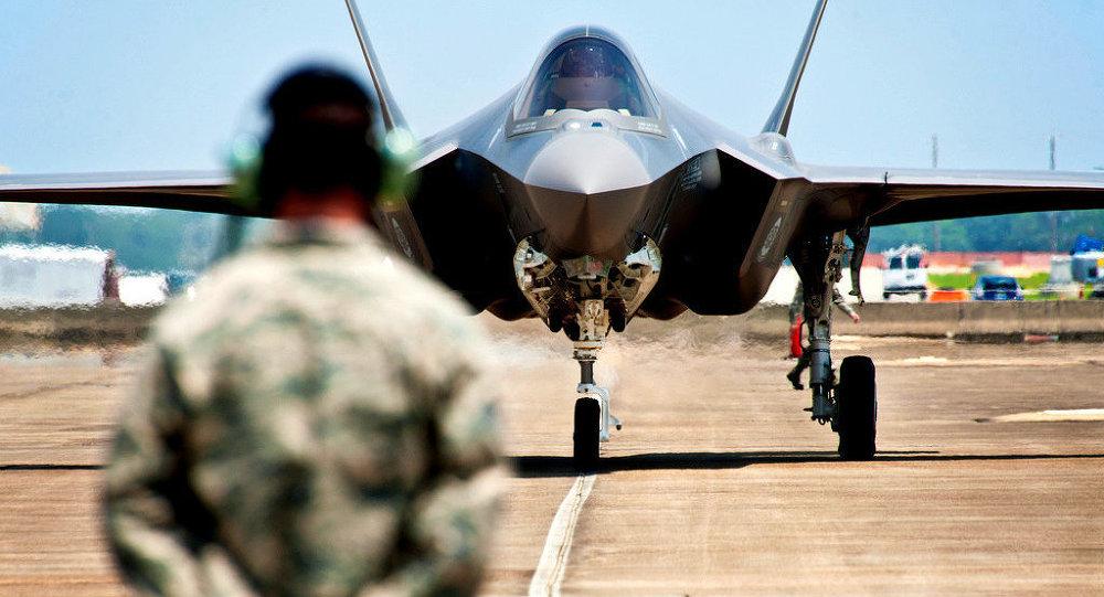 Caça F-35 (foto de arquivo)