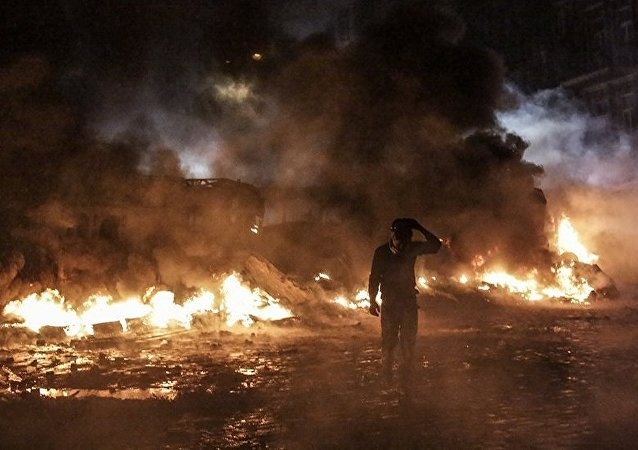 Protestos na Ucrânia
