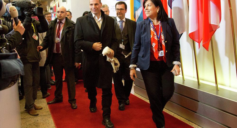Yanis Varoufakis, ministro de Finanças da Grécia