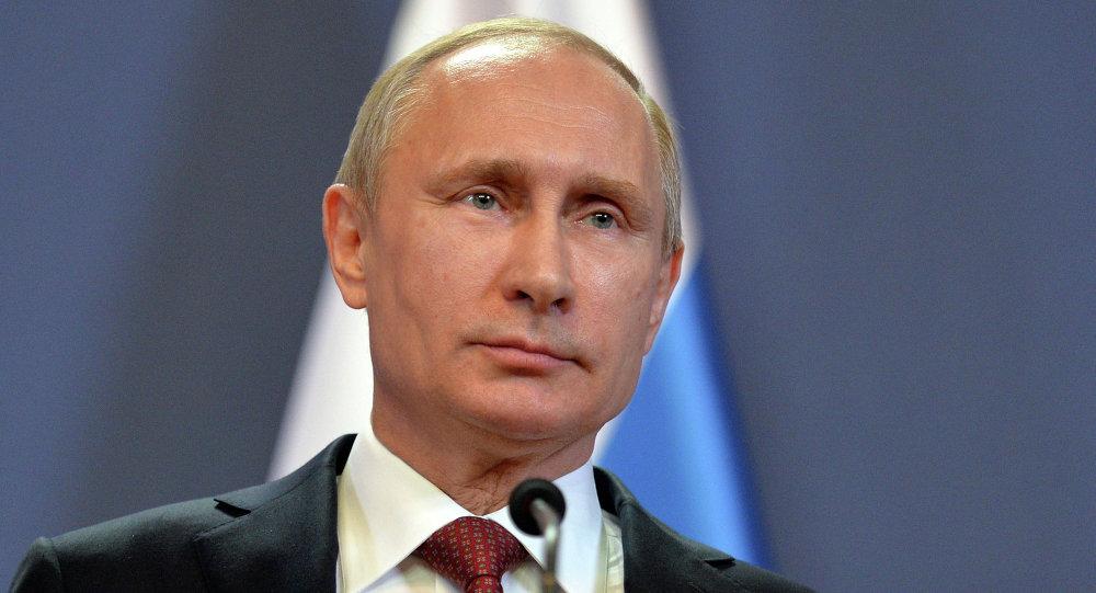 Vladimir Putin discursa em Budapest