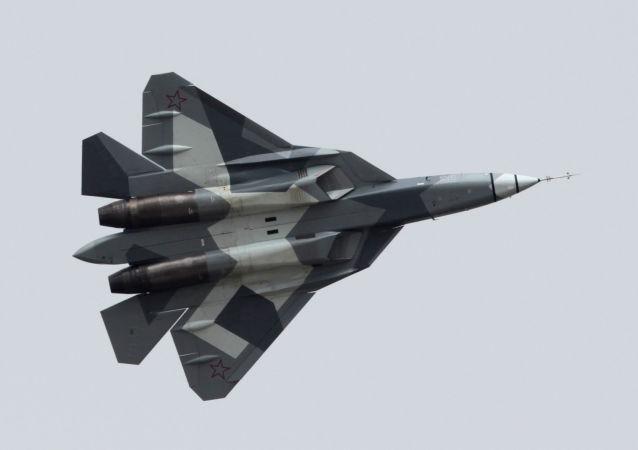 Sukhoi PAK FA, conhecido também como T-50