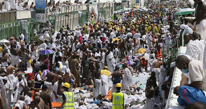A peregrinação a Meca acabou em tragédia após pisoteamento em Mina.