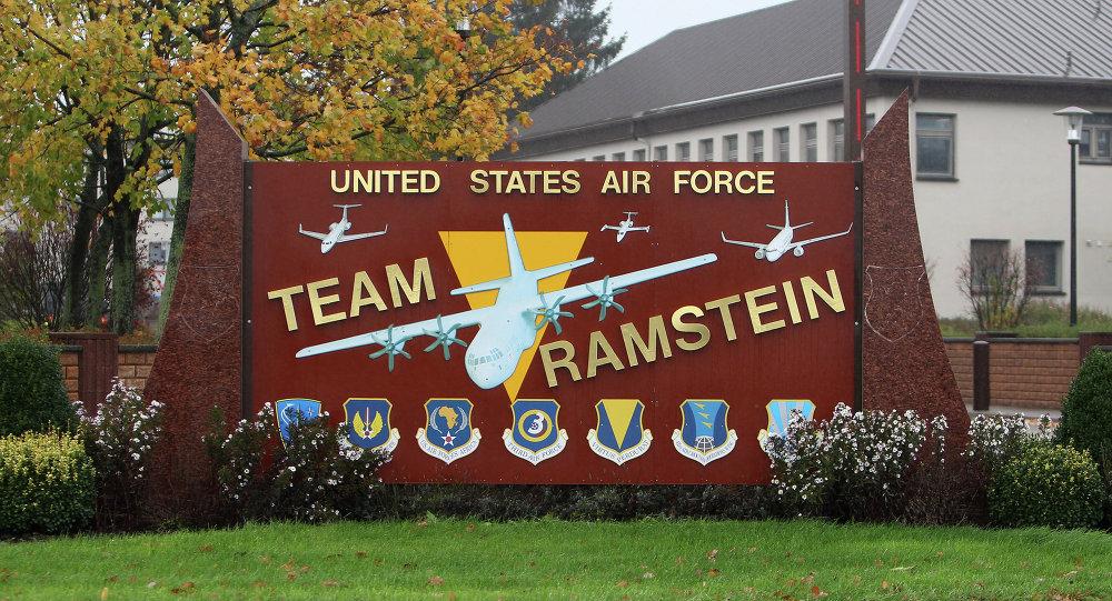 Base aérea norte-americana de Ramstein na Alemanha
