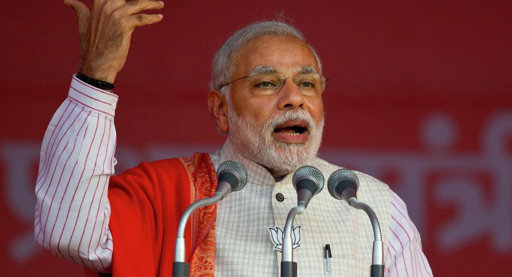 Primeiro-ministro da Índia, Narendra Modi