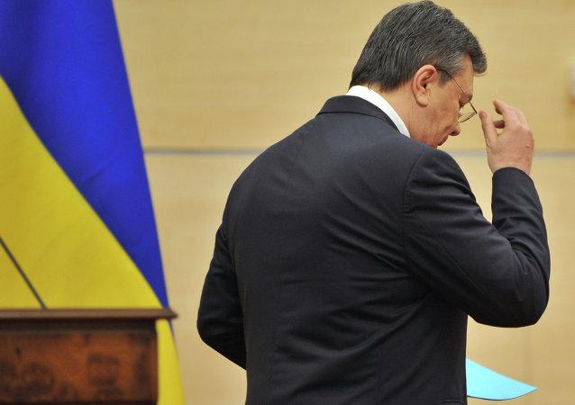 Ex-presidente da Ucrânia, Viktor Yanukovich